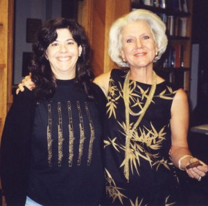 With Amy Blumenthal