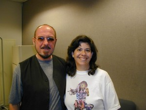 With Ian Anderson of Jethro Tull