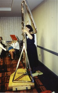 Phyllis & Paige's Double Contrabass at NFA 2000